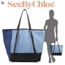 ★See by Chloe☆Andy・デニムトート
