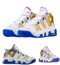 "USA限定 最短2日 Nike Air More Uptempo GS ""FUCHSIA"" 国内発送"