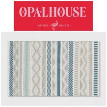 【OPALHOUSE】●入手困難●Gray/Blue/Gold Woven Accent Rug