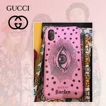 GUCCI Garden 限定 Phone X ケース アイモチ-フ ピンク 追跡付