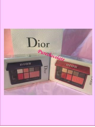 Dior リップグロス・口紅 追跡付♡免税店限定♡2色有メイクアップパレット