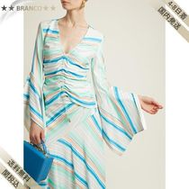 Peter Pilotto(ピーターピロット ) Tシャツ・カットソー すぐ届く▼Striped bell-sleeve ジャージ top