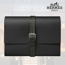 【HERMES/エルメス】/Etriviere II Folder jungle クラッチ
