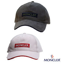 MONCLER ロゴワッペンキャップ 二色展開