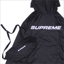Supreme FW17 Packable Ripstop Pullover 黒 Size MEDIUM