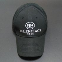 BB BALENCIAGA MODE CAP IN BLACK/WHITE