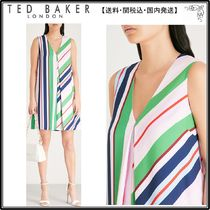 【関税込】TED BAKER ドレス☆Creativ Bay of Honour striped cr