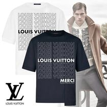 【18FW】 ルイヴィトン PATCHWORK LV LIST Tシャツ 綿 2色 新作