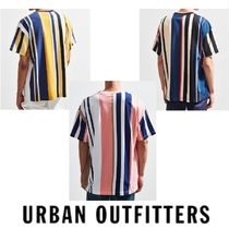 "Urban Outfitters(アーバンアウトフィッターズ) Tシャツ・カットソー ""Urban Outfitters"" 配色 ストライプ  Tシャツ WIDE VERTICAL"