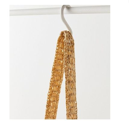"""Urban Outfitters トートバッグ """"Urban Outfitters""""夏素材 ストロートートSlouchy Straw Tote (5)"""