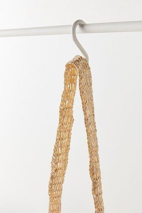 "Urban Outfitters トートバッグ ""Urban Outfitters""夏素材 ストロートートSlouchy Straw Tote (15)"