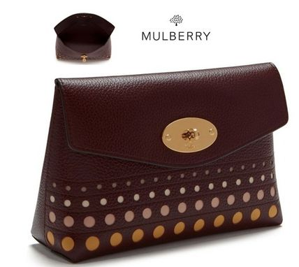Mulberry メイクポーチ 【Mulberry】メイクポーチ