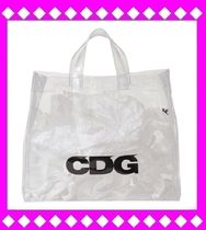 COMME des GARCONS(コムデギャルソン) トートバッグ 希少〓〓完売 CDGコムデギャルソン 限定PVCバッグ