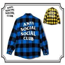 ANTI SOCIAL SOCIAL CLUB Flannel Shirts シャツ