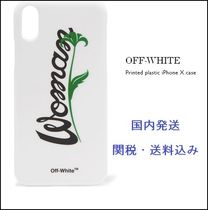 送料込☆OFF-WHITE  plastic iPhone X ケース