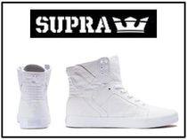 リアーナ愛用ブランド☆SUPRA☆WOMENS SKYTOP D OFF WHITE-WHITE