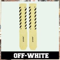 《最新作!!》18AW [OFF-WHITE] DIAG ソックス/ Yellow Black