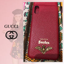 GUCCI Garden 限定 Phone X ケース  バット レッド  追跡付