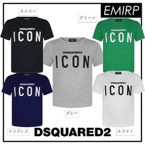 18SS☆D SQUARED2★大人OK★BOYS★Dsquared2 ICON ロゴTシャツ