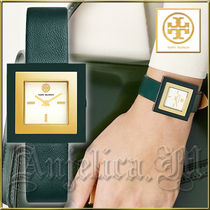 ★安心ヤマト便★TORY BURCH Sedgewick Green Watch-TBW3100