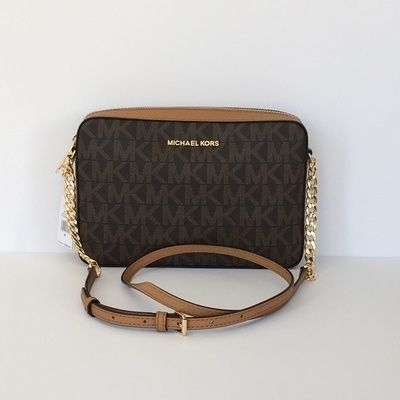 Michael Kors ショルダーバッグ・ポシェット 【Michael Kors】新作☆JET SET ITEM LG EW CROSSBODY☆(8)