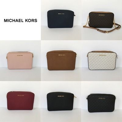 Michael Kors ショルダーバッグ・ポシェット 【Michael Kors】新作☆JET SET ITEM LG EW CROSSBODY☆