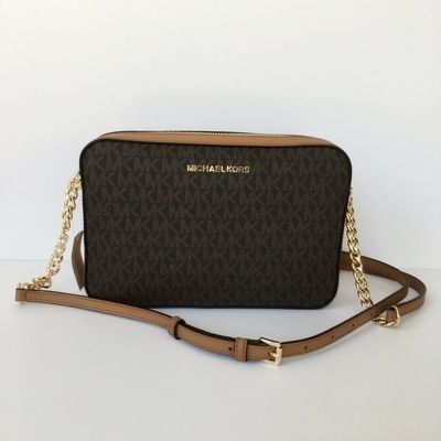 Michael Kors ショルダーバッグ・ポシェット 【Michael Kors】新作☆JET SET ITEM LG EW CROSSBODY☆(2)