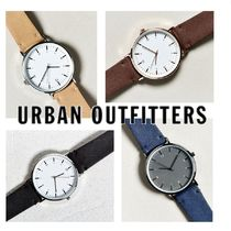 Urban Outfitters オリジナル腕時計 Simple Leather Band Watch