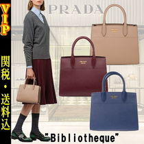 "◆◆VIP◆◆PRADA  ""Bibliotheque"" 2Way レザー Bag / 送税込"