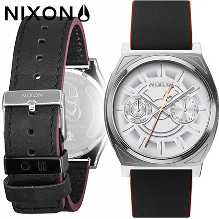 5a166d4dae Nixon アナログ時計 Nixon The Time Teller Deluxe レザー メンズ A927SW-2446 ...