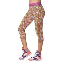 国内発 ズンバ Believe In Magic Capri Leggings Lady Lavendar