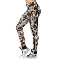 国内発送 ズンバ Zumba Dream Piped Ankle Leggings Bold Black