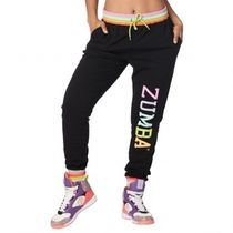 国内発送 ズンバ Zumba Believe In Magic Sweatpants Bold Black