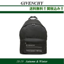 18AW関税込GIVENCHYジバンシイ 'givenchy address tag' backpack