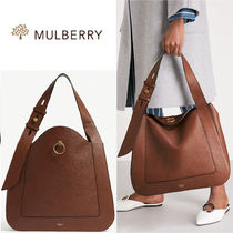 Mulberry - Marloes grained レザートートバッグ