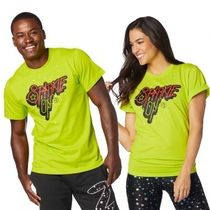★国内発送★ ズンバ Zumba Sparkle On Tee Zumba Green