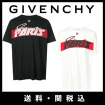 ■新作■関税込■GIVENCHY  Columbian-fit logo print T-shirt