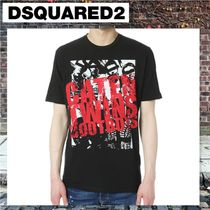 【D SQUARED2】 Caten Twins Boot Boysプリント Tシャツ