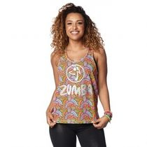 ★国内発送★ ズンバ Zumba Dream Tank Coral Craze