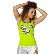 ★国内発送★ ズンバ Zumba Sparkle On Racerback Zumba Green