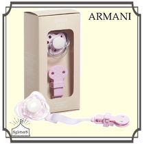 Armani Junior☆Baby Girlおしゃぶり&クリップset