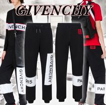 2018ss GIVENCHY logo embroidered sweatpants スウェットパンツ