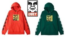 OBEY(オベイ) パーカー・フーディ 【OBEY】x Misfits 7'' Cover Pullover 限定コラボ品 送料込み