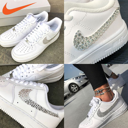Nike スニーカー 「NIKE AIR FORCE 1」◆「SWAROVSKI JEWELRY」HANDMADE CUSTOM◆(18)