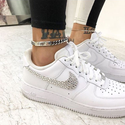 Nike スニーカー 「NIKE AIR FORCE 1」◆「SWAROVSKI JEWELRY」HANDMADE CUSTOM◆(8)