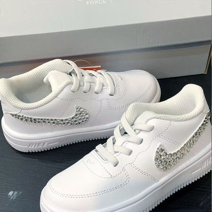 Nike スニーカー 「NIKE AIR FORCE 1」◆「SWAROVSKI JEWELRY」HANDMADE CUSTOM◆(10)