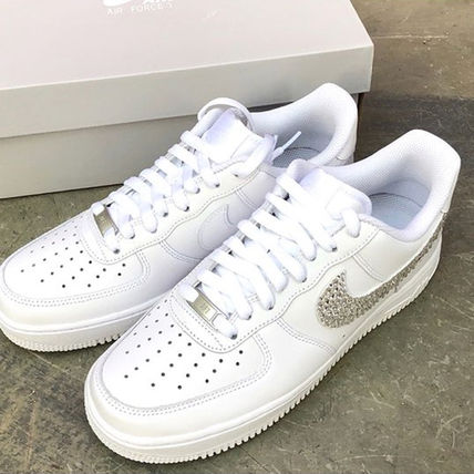 Nike スニーカー 「NIKE AIR FORCE 1」◆「SWAROVSKI JEWELRY」HANDMADE CUSTOM◆(13)