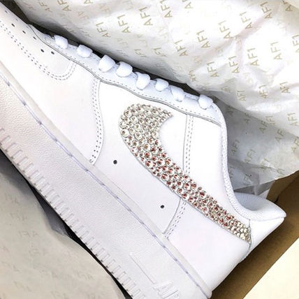 Nike スニーカー 「NIKE AIR FORCE 1」◆「SWAROVSKI JEWELRY」HANDMADE CUSTOM◆(14)