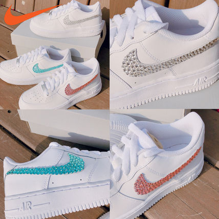 Nike スニーカー 「NIKE AIR FORCE 1」◆「SWAROVSKI JEWELRY」HANDMADE CUSTOM◆