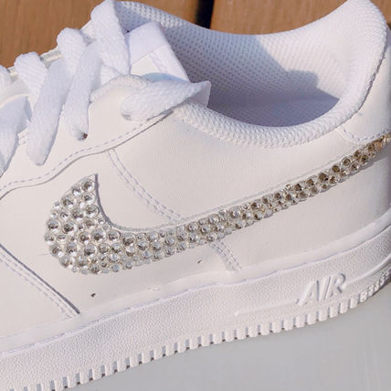 Nike スニーカー 「NIKE AIR FORCE 1」◆「SWAROVSKI JEWELRY」HANDMADE CUSTOM◆(4)